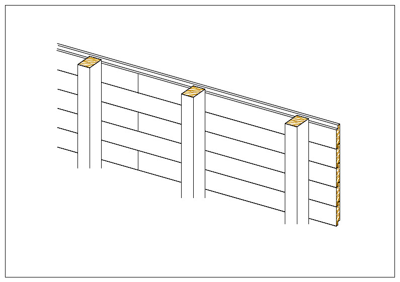 Bevorzugt Bâtiments et hangars bois standards et sur mesure avec montage ou  JP75