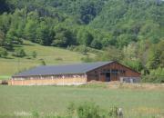 Batiment agricole bois bergerie