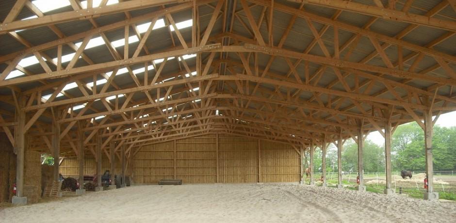 manege en bois pour centre equestre