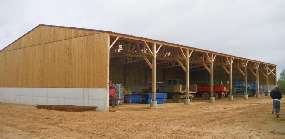 Prix batiment agricole construction de batiment agricole prix m2 hangar avec bardage bois et - Vide hangar materiel agricole occasion ...