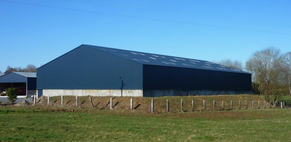 Hangar de stockage paille ou foin ou matériel Roiné # Bardage Bois Agricole