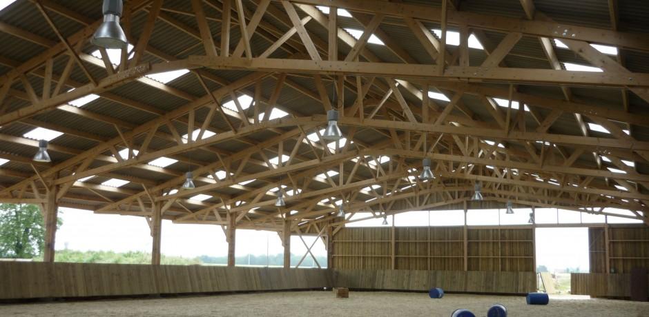 Hangar bois pas cher affordable hangar bois pas cher with hangar bois pas cher haras du - Hangar metallique pas cher ...